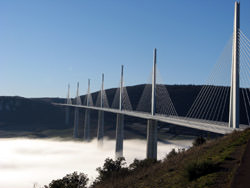 Viaduc de Millau, Frankreich