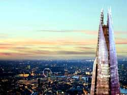 View from the Shard, UK