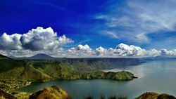 Volcano Toba, Indonesia