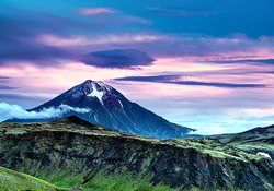 Volcanoes of Kamchatka, Russia