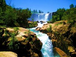 Waterfall Salto del Laja, Chile