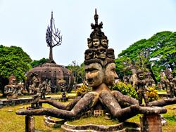 Parque Xieng Khuan Buddha, Laos