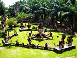 Xieng Khuan Buddha Park, Laos