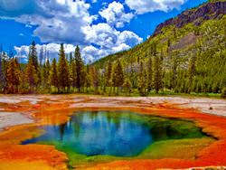 Yellowstone Volcano, USA