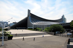 Das Nationale Yoyogi Stadion, Japan