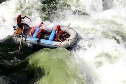 Река Замбези, Замбия