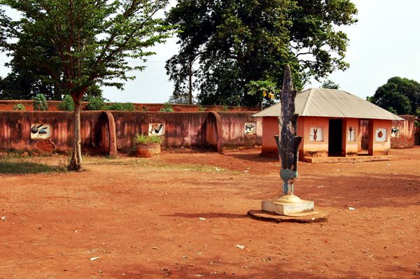 Abomey königlichen Paläste, Benin