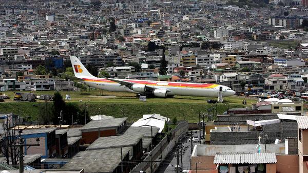 Аэропорт Марискал Сукре, Эквадор