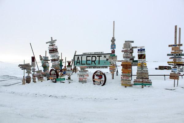 Поселок Алерт, Канада