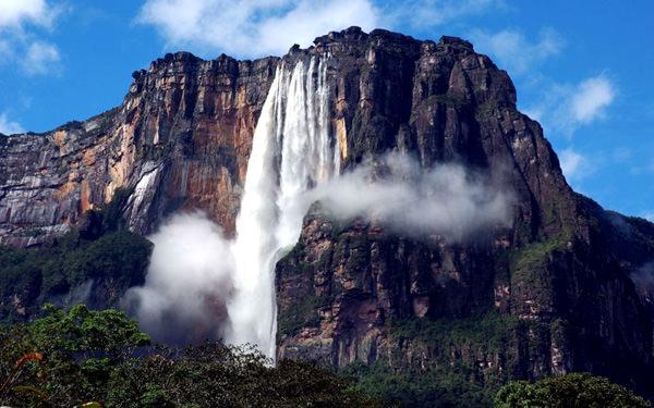 Abngek Wasserfall, Venezuela
