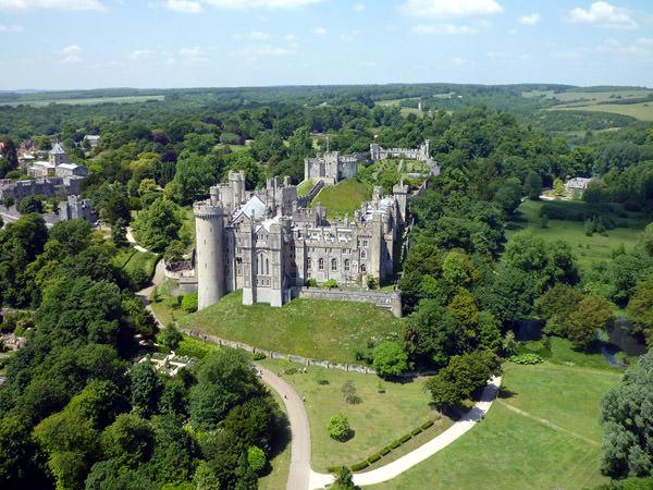 Arundel Schloss, England