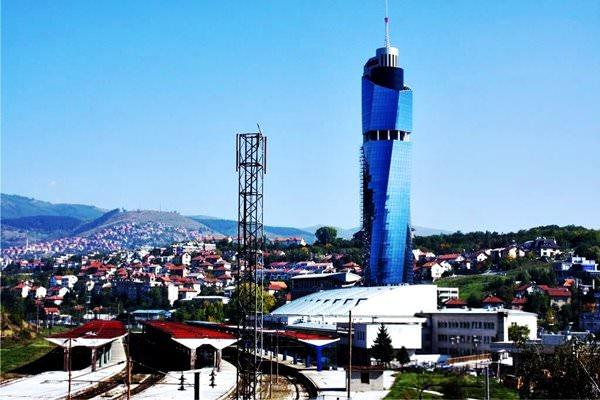 Avaz Twist Tower Wolkenkratzer, Bosnien und Herzegowina
