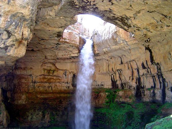 Baatara Wasserfall, Libanon