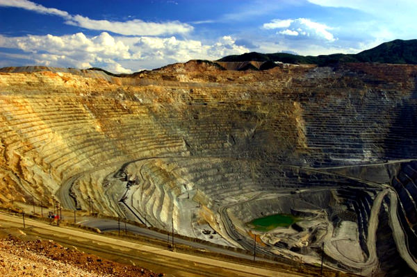Bingham Canyon Grube, Vereinigte Staaten