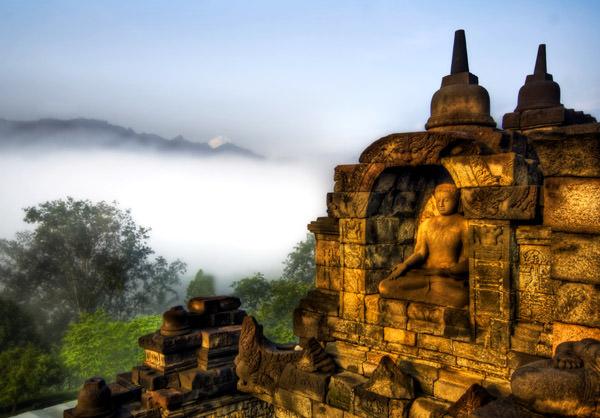 Tempel Borobudur, Indonesien
