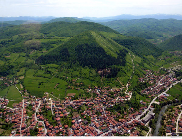 Die bosnischen Pyramiden, Bosnien