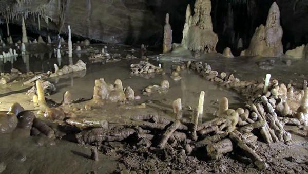 Пещера Брюникель, Франция