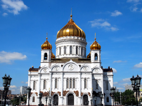 Cathedral of Christ the Savior, Russia