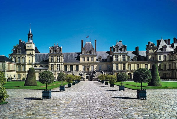 Fontainebleau Schloss, Frankreich