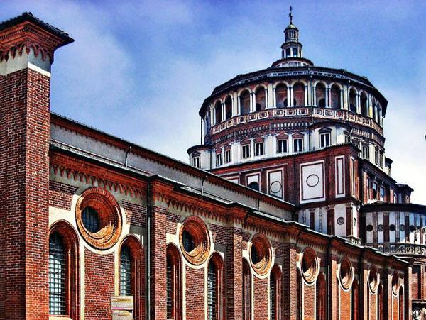 Church of Santa Maria delle Grazie, Italy