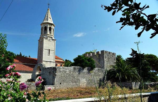Christliche Basilika von Lin, Albanien