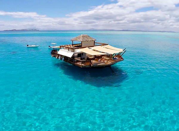 Schwimmbar Cloud 9, Fiji
