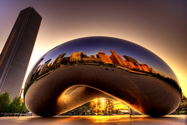 Cloud Gate Monument, United States