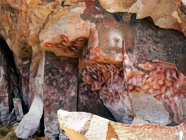 Höhle Cueva de las Manos, Argentinien