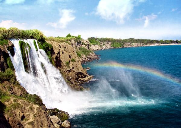 Водопад Дюден, Турция