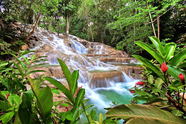 Dunn River Wasserfälle, Jamaika