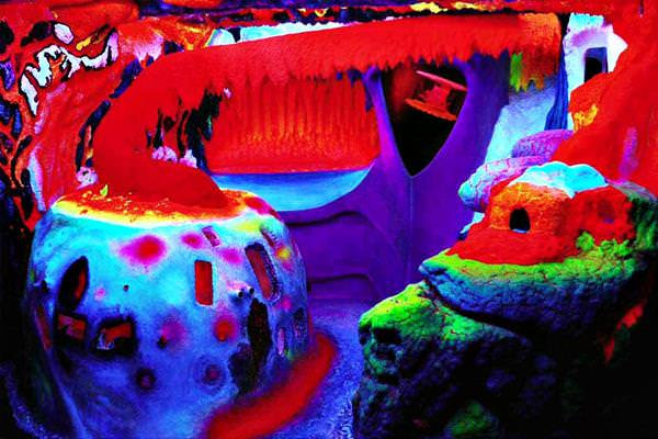 Electric Ladyland Fluorescent Museum, Netherlands
