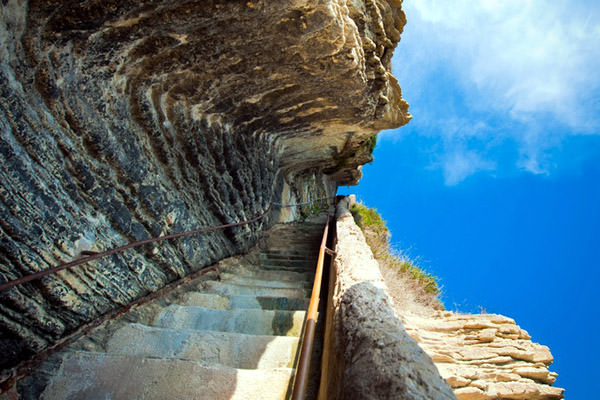 Escaliers du Roy d Aragon, France
