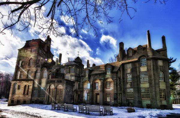 Замок Фонтхилл, США