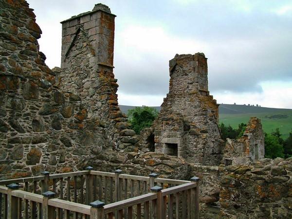 Замок Гленбухат, Шотландия