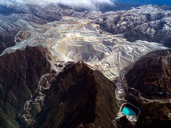 Grasberg Mine, Indonesien