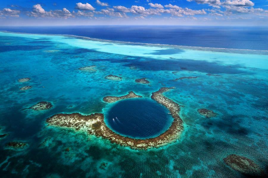 Das Große Blaue Loch, Belize