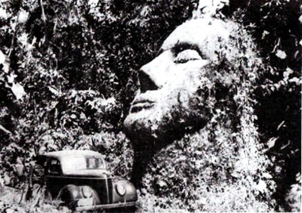 Guatemala Stone Head, Guatemala