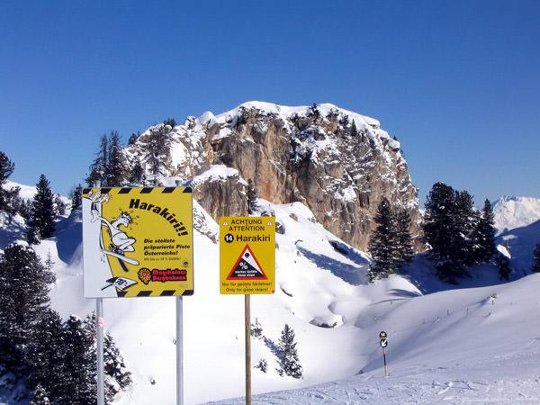 Harakiri Ski Slope, Austria