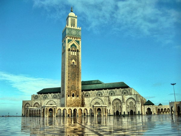 Hassan-II.-Moschee, Marokko