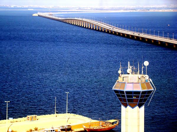 König-Fahd-Damm, Saudi-Arabien - Bahrain