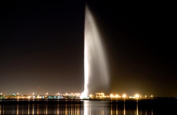 König Fahd Springbrunnen, Saudi Arabien