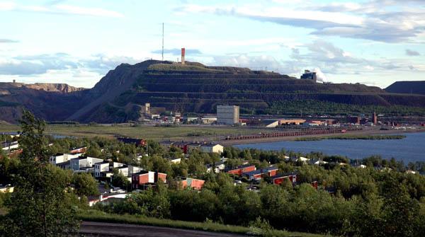 Kirunavara Grube, Schweden