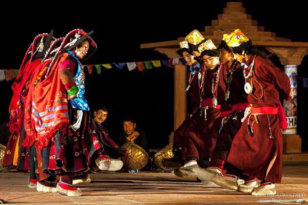 Ladakhi Stamm, Indien