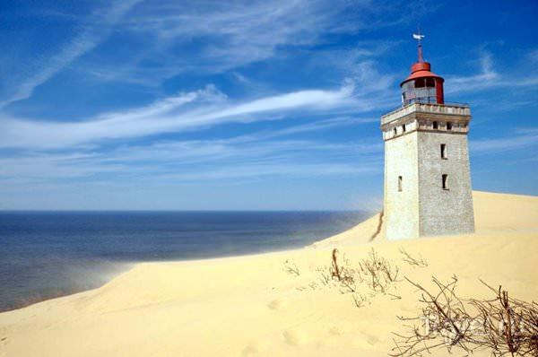 Lighthouse Rubjerg-Knude, Denmark