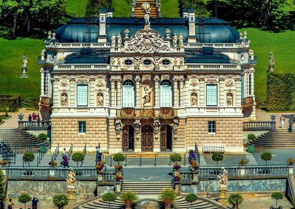 Замок Линдрехоф, Германия