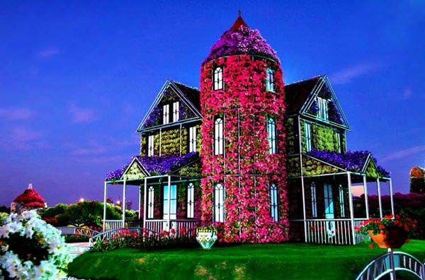 Дубай дома в цветах недвижимость в дубае от застройщика