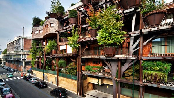 Live-Haus in Turin, Italien