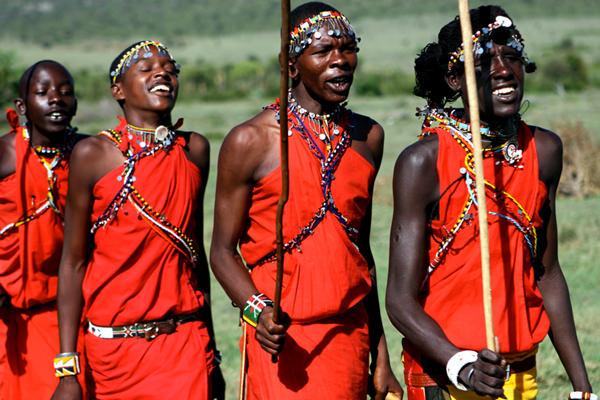 Племя Масаи, Кения - Танзания