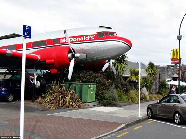 McDonalds in Taupo, New Zealand