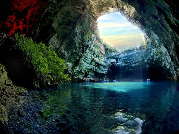 Пещера Мелиссани, Греция
